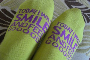socks for happy people