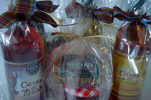 scottish wine & oatcakes