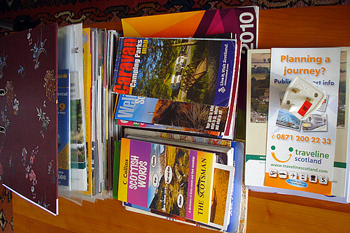 house swap manual & local info