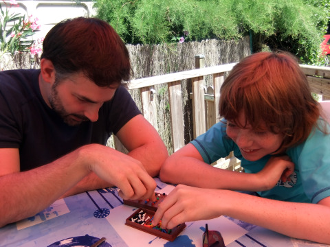 Antony and Ruaridh play vintage MasterMind