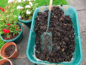 home grown organic compost