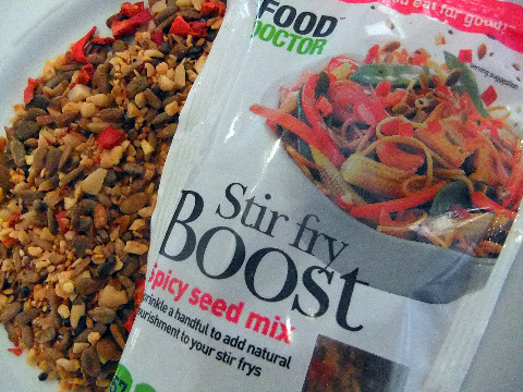 stir fry boost - the food doctor