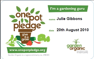 one pot pledge gardening guru