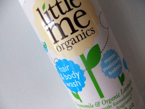 little me organics hair & body wash