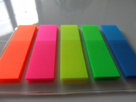 colour strip tab