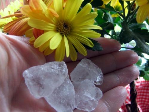 volcanic alum crystals
